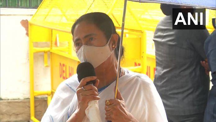 West Bengal CM Mamata Banerjee in Delhi Tuesday   ANI