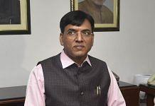 Health Minister Mansukh Mandaviya after taking office on 8 July 2021 | Photo: Manvinder Vashisht | PTI