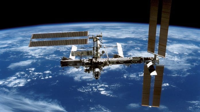 Representational image.   A file photo of the International Space Station.   Photo: Flickr/NASA  - nasa 696x392 - Gene-editing experiment conducted in space for first time, paves way for crucial research