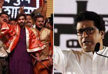 (L-R) Maharashtra Navnirman Sena chief Raj Thackeray is grooming his son, Amit Thackeray, to take up administrative responsibilities within the party | The Print
