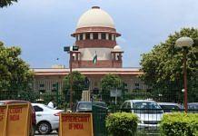 File photo of the Supreme Court of India | Photo: Manisha Mondal | Photo: ThePrint