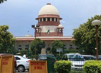 File photo of the Supreme Court of India   Photo: Manisha Mondal   Photo: ThePrint