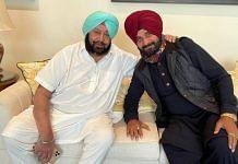 File photo of Navjot Singh Sidhu and Captain Amarinder Singh | ANI
