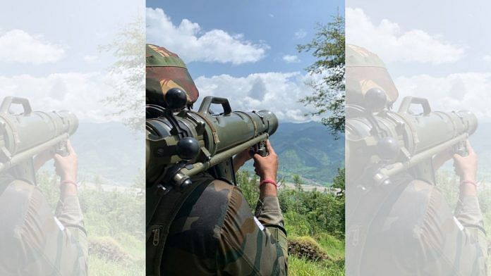 A soldier on guard facing Pakistan Occupied Kashmir   Snehesh Alex Philip   ThePrint