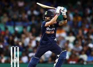 Cricketer Virat Kohli