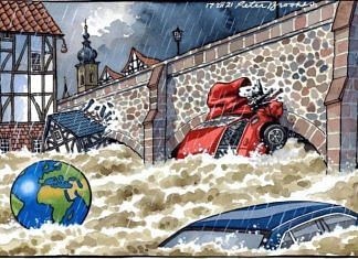 Peter Brookes   The Times