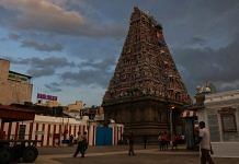 The Kapaleeshwarar Temple in Chennai opens for visitors at 6:30 pm in the evening.   Photo: Manisha Mondal/ThePrint