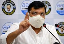 File photo of Aam Aadmi Party leader Sanjay Singh | ANI