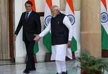 File photo of PM Narendra Modi and Brazil's President Jair Bolsonaro | Photographer: T. Narayan | Bloomberg