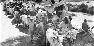 File photo | A caravan of refugees pass during Partition | Saktishree DM/Flickr