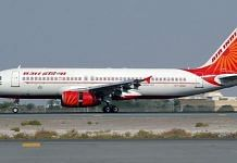 Representational image of an Air India plane   Photo: Commons