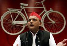 File photo of Samajwadi Party chief Akhilesh Yadav| ANI