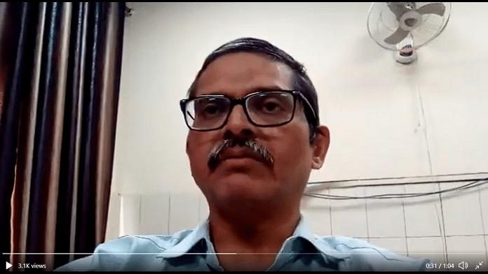 File photo of former UP-cadre IPS officer Amitabh Thakur | Twitter | @Amitabhthakur