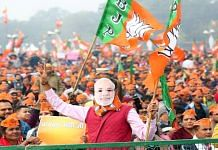 A BJP rally in Noida in the runup to the 2017 Uttar Pradesh assembly elections | Suraj Singh Bisht, ThePrint