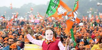 A BJP rally in Noida in the runup to the 2017 Uttar Pradesh assembly elections   Suraj Singh Bisht, ThePrint