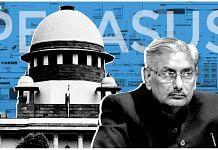 Retired Supreme Court justice Arun Mishra | Graphic by Ramandeep Kaur