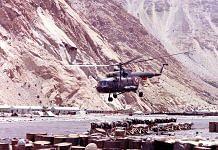 File photo | An Mi-17 at Base Camp | Photo: Gp Capt KS Saini