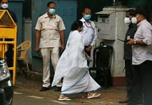 West Bengal CM Mamata Banerjee during her Delhi visit last week   Manisha Mondal   ThePrint