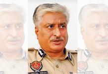 Former Punjab DGP Sumedh Singh Saini   File photo: ANI