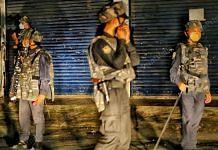 Meghalaya Police personnel | Representational Image| Photo: Praveen Jain | ThePrint