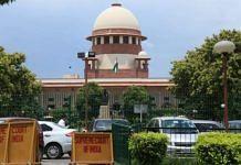 File photo of Supreme Court of India | Manisha Mondal | ThePrint