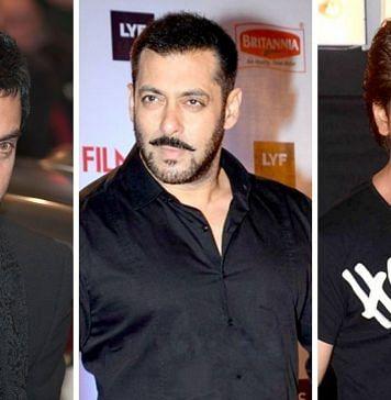Aamir-Salman-Shah Rukh