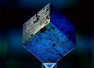 A cube of uranium from a failed German World War II-era nuclear reactor | John T. Consoli | University of Maryland