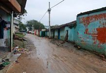 A view of the Wasseypur locality in Dhanbad | Photo: Soniya Agrawal | ThePrint