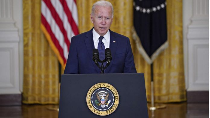 Joe Biden's Photo With Head Bowed Down at Press Conference Goes Viral, Here's Why