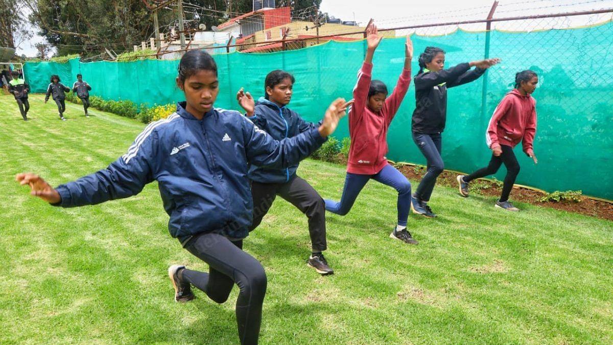 All 14 athletes are from Jharkhand | Photo: Manisha Mondal/ThePrint