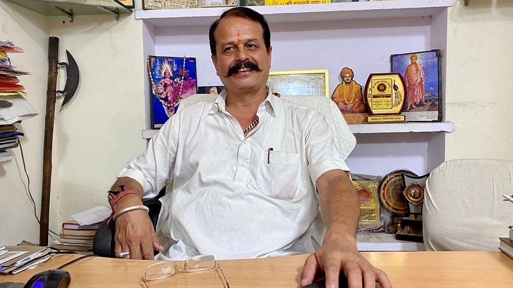 Sharma, of the Rajasthan Dharohar Bachao Samiti | Photo: Nirmal Poddar/ThePrint