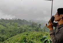 Dailong secretary Hiamkamang Gonmei explains where the 100-km road connecting Tamenglong to Assam will come up in the hills | Simrin Sirur | ThePrint