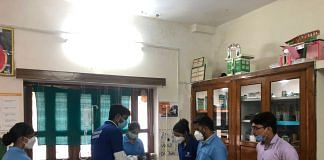 Students attend the Covid Warrior crash course | Jyoti Yadav | ThePrint