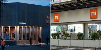 A Facebook pop-up-office in Davos and a Xiaomi store in Hong Kong