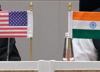 India and US flags | Representational image | Bloomberg Photo