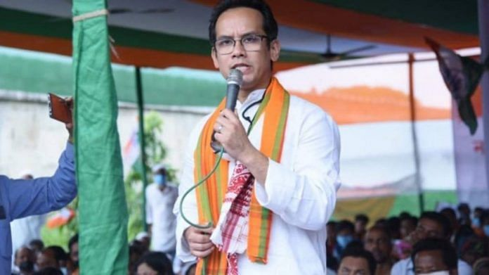 Congress MP Gaurav Gogoi said the party reached the decision after receiving negative feedback from grassroot workers about the alliance | File Photo | Twitter | @GauravGogoiAsm