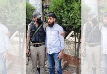 Journalist Aadil Farooq Bhat after his arrest | By Special Arrangement