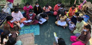 To ensure that lockdowns and school closures don't end in girl students dropping out of school, 'Apna Taleem Ghar' an initiative by the youth collective Awadh Peoples Forum (APF), holds open classes for girls from the economically weaker sections of Ayodhya.