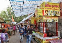 A dosa stall in Mathura's Vikas Market, which changed its name to 'American Dosa Corner' from 'Shrinath Dosa' after an incident of vandalism on 18 August 2021. | Photo: Suraj Singh Bisht/ThePrint