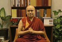 Geshe Dorji Damdul, Director, Tibet House | Tibet house Facebook page