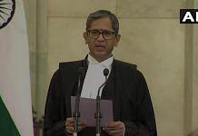 File photo of Justice N.V. Ramana | ANI