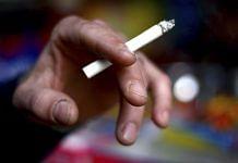 A smoker with a cigarette | Representational image | Photographer: Sanjit Das | Bloomberg News