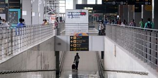 Travelers at IGI airport in New Delhi on 24 August 2021   Bloomberg Photo