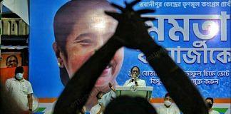 CM Mamata Banerjee addresses the last election campaign of bypolls | Photo: Praveen Jain | ThePrint