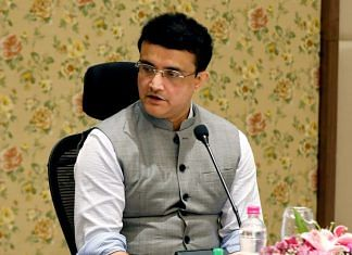 BCCI chief and former India captain Sourav Ganguly   File photo: ANI