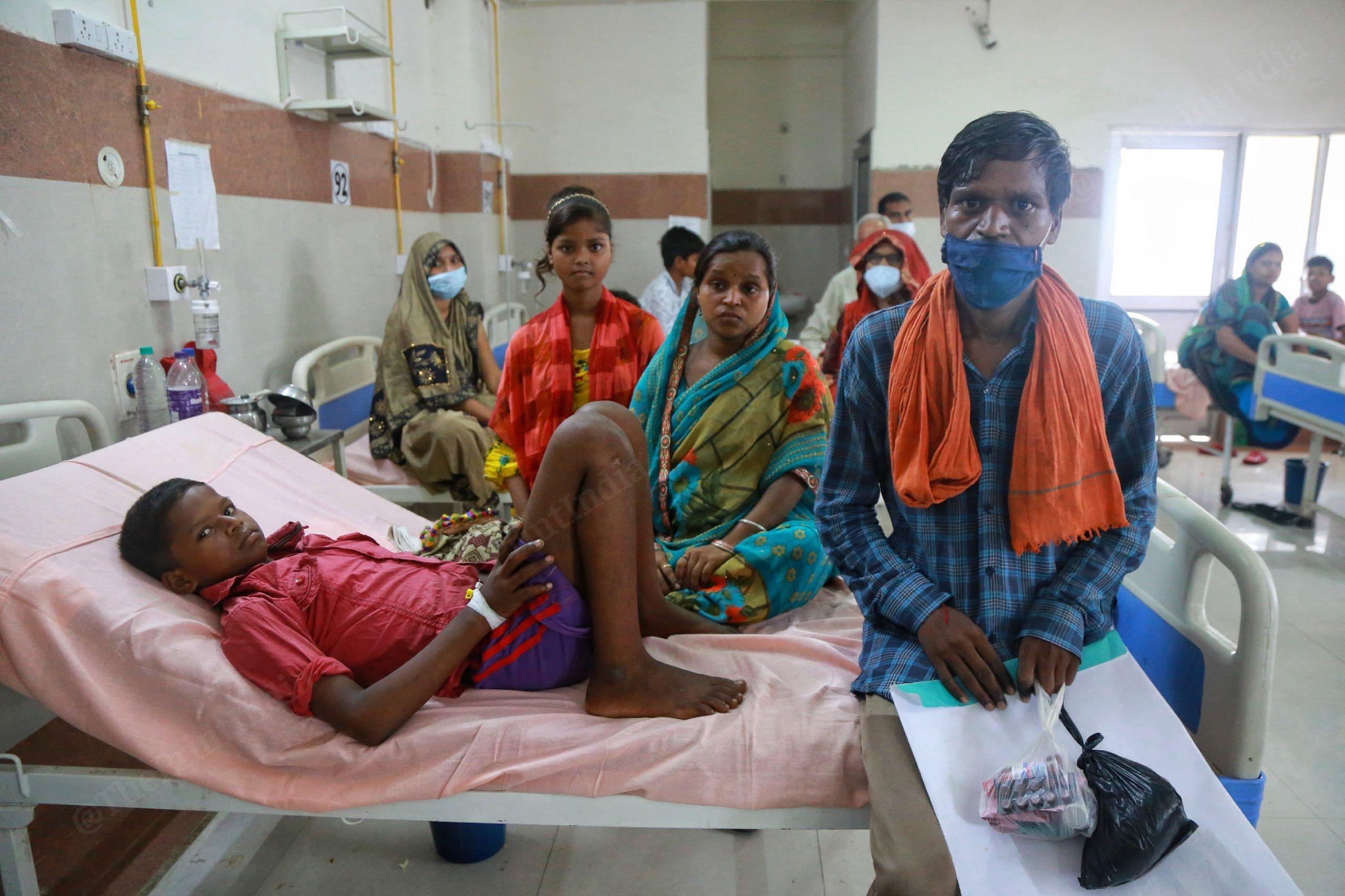 Sarvesh Kumar lost three of his five children to the mystery disease last week   Manisha Mondal   ThePrint