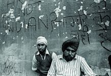 Victims of the anti-Sikh riots that followed the assassination of Indira Gandhi. (Delhi,1984)   Photo credit: Prashant Panjiar