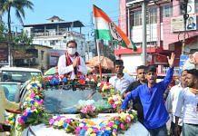 Birajit Sinha, Tripura Congress's new chief, in Agartala | Samrat Roy | Twitter