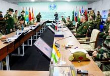 Chief of Defence Staff General Bipin Rawat attends the conference of the Chiefs of General Staff of the SCO member states in Russia's Orenburg, on 23 September 2021   ANI photo