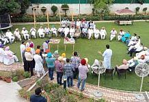 File photo of Congress Punjab MLAs in Chandigarh on 19 July 2021 | Representational image | ANI Photo